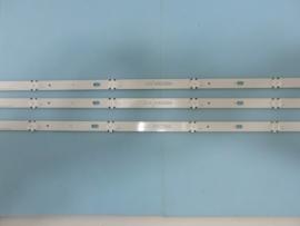 LS803/43    SET BACKLIGHT LED STRIPS (3 STUKS ) AGF79078002 IDEM  AGF79078001 IDEM AGF78899502  IDEM AGM76150202 IDEM AGF78860201  IDEM  AGM76149801  IDEM  AGM76191501    LG
