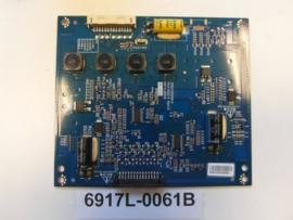 LED DRIVER  6917L-0061B  PCLF-D002 B  3PEGC20008B-R  SONY  F9