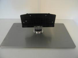 SA6443  VOET LCD TV  GEBRUIKT COMPLEET   ZILVER METAAL    SAMSUNG