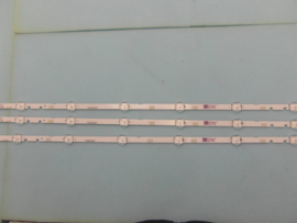 LS912/40 SET BACKLIGHT LED STRIPS  ( 3 STUKS )  BN96-37622A   SAMSUNG