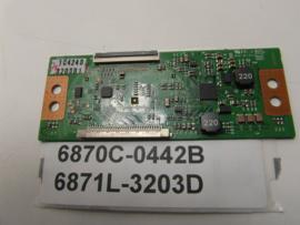 TCONBOARD  6870C-0442B  6871L-3203D  LG/PHILIPS