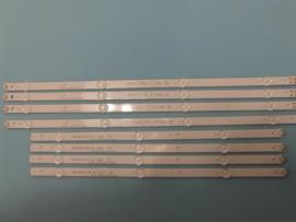 LS819/49 SET BACKLIGHT LED STRIPS  (8 STUKS ) AGF79100101   LG