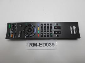 AFSTANDSBEDIENING  RM-ED039  SONY