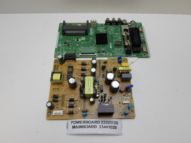 POWERBOARD 23321125 MAINBOARD  23441028  FINLUX