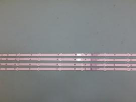 LS709/43 LB43104  SET BACKLICHT  LED STRIPS   ( 4 STUKS)  996599001090   PHILIPS
