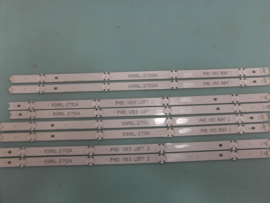 LS822/49   SET LED STRIPS  ( 8 STUKS)  AGF79047201   LG
