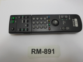 AFSTANDSBEDIENING      RM-891 SONY
