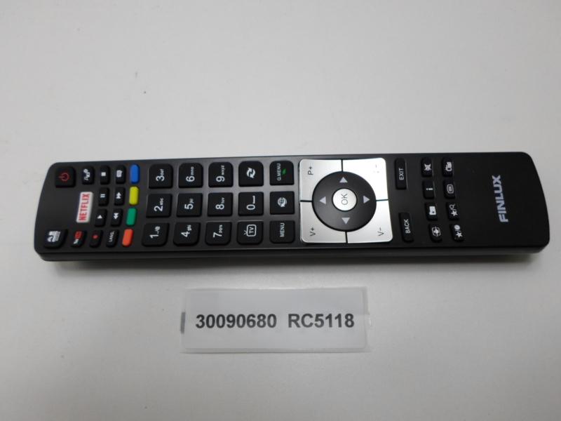 AFSTANDSBEDIENING   30090680  RC5118  FINLUX