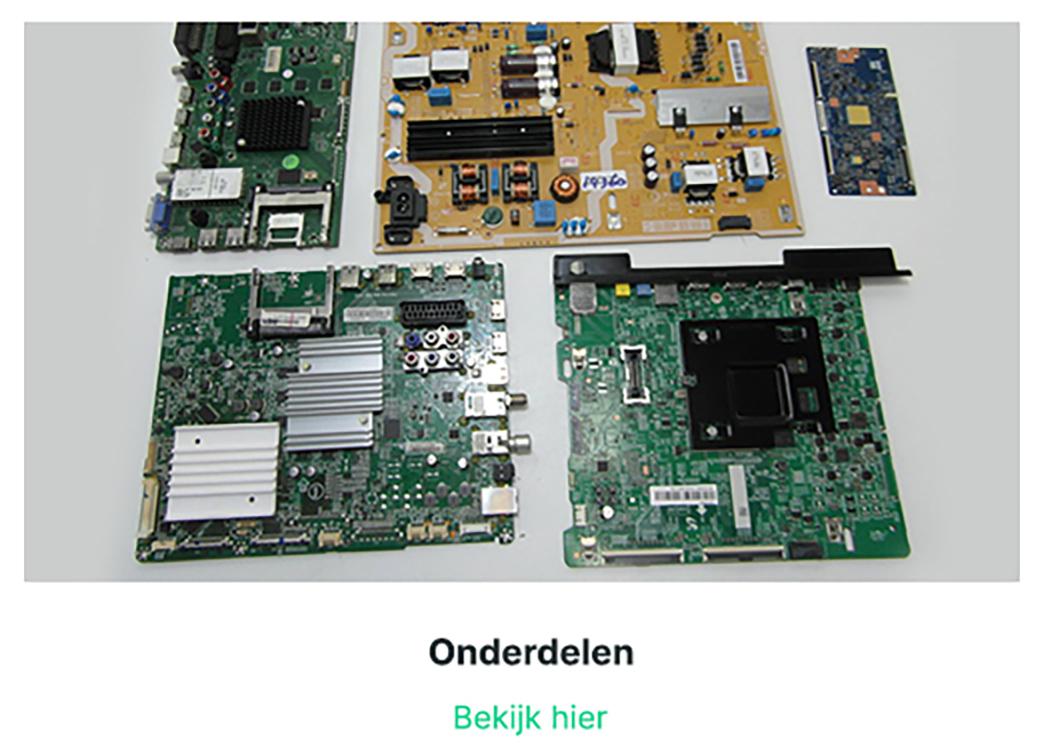 TV onderdelen | Plasma-lcd-led-onderdelen.nl