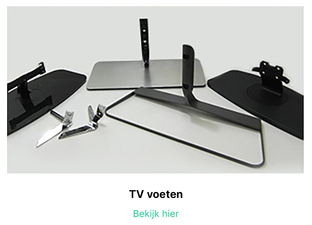 TV voeten | Plasma-lcd-led-onderdelen.nl