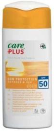 Care Plus Zonnebrand Tegen Kwallen - Outdoor&Sea SPF50 100 ml.