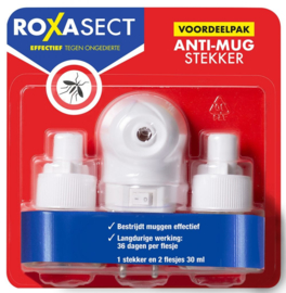 Roxasect Anti-Mug Stekker Voordeelverpakking