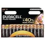 Duracell® Batterijen AA Plus Power AlkaLine 12 stuks  + 40 % more power