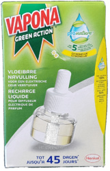 Vapona- Pro Nature Anti mug stekker navulling 45 nachten