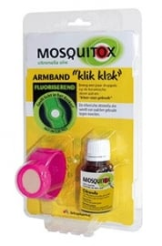 Mosquitox muggenbandje met flesje citronella olie