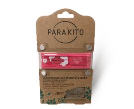 Parakito Armband Design Roze Navulbare band & 2 tabletten