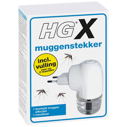 HGX Muggenstekker inclusief vulling.