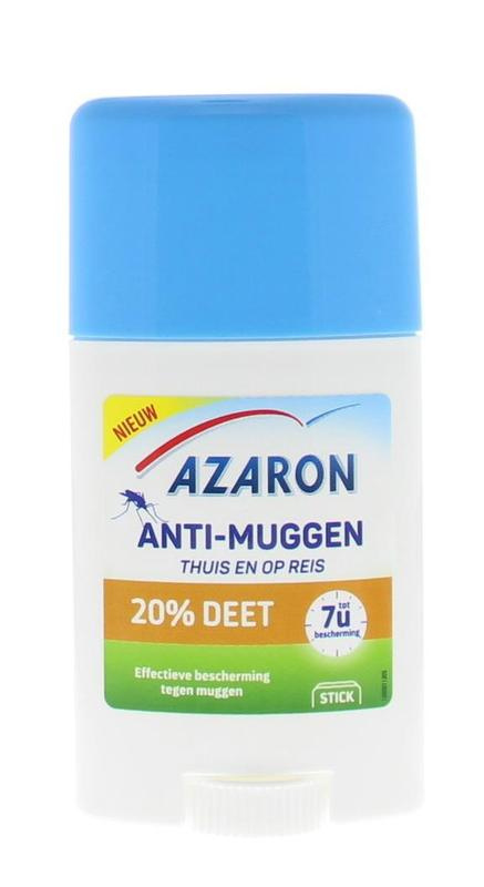 Azaron Anti Muggenstick 20% DEET 50 ml.