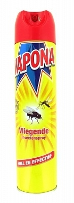 Vapona Vliegende Insecten Spray 400 ml.