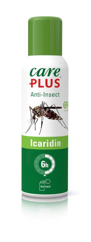Care Plus - Anti Insect Icaridin Aerosol Muggenspray100 ml.