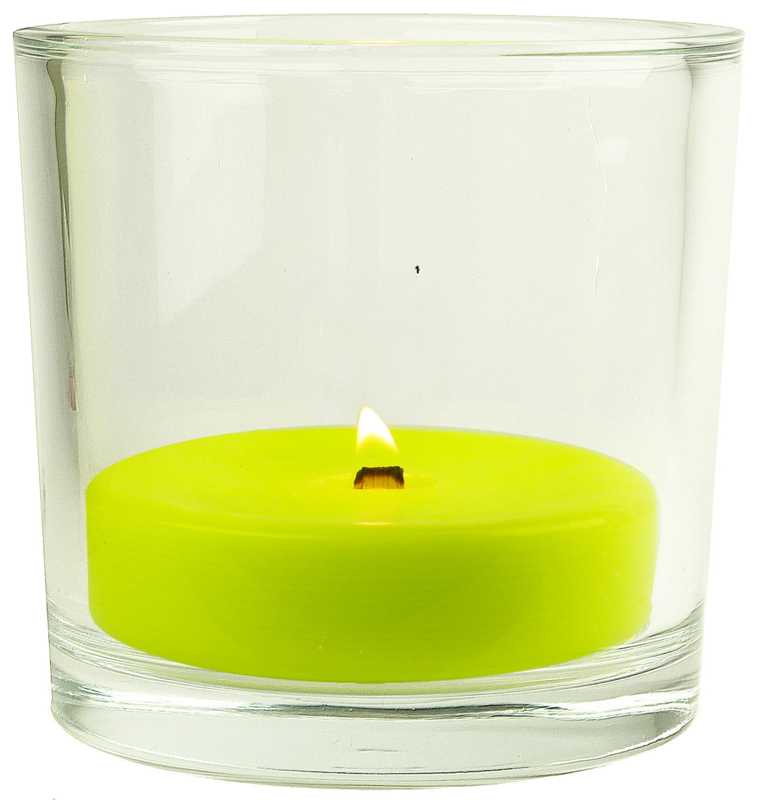 XL Glas inclusief citronella kaars vulling indoor 250 g