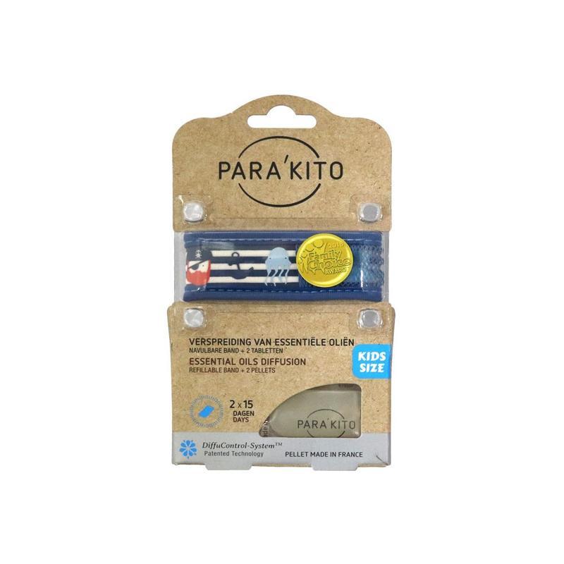 Parakito Kids Armband Piraat  Navulbare band & 2 tabletten