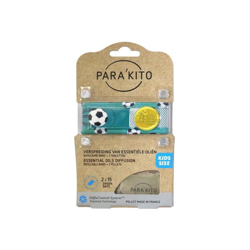 Parakito Kids Armband Voetbal Navulbare band & 2 tabletten