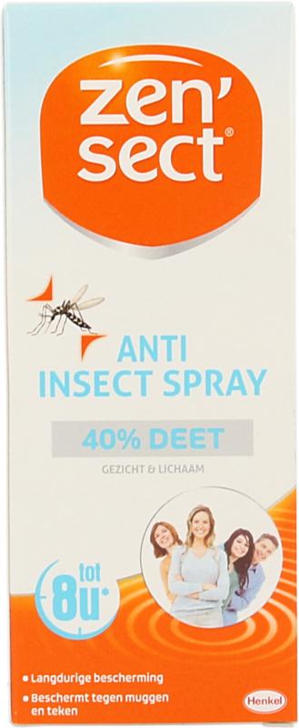 Zensect Spray deet 40 % 60 ml.