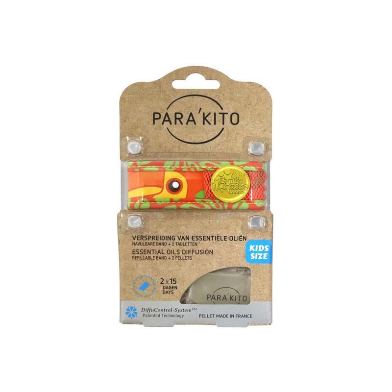 Parakito Kids Armband Toekan Navulbare band & 2 tabletten