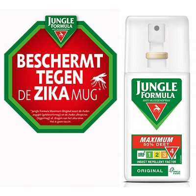 Jungle Formula Maximum Original 75 ml. spray 50 % Deet.