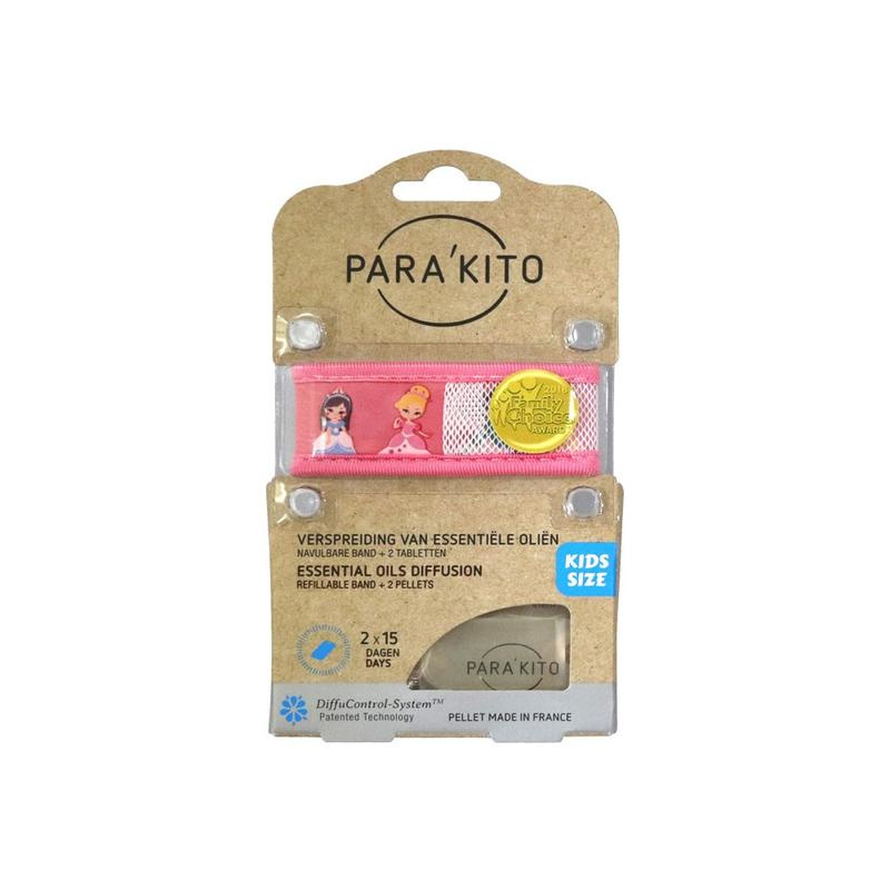 Parakito Kids Armband Prinses  Navulbare band & 2 tabletten