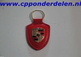 911234 Porsche sleutelhanger rood