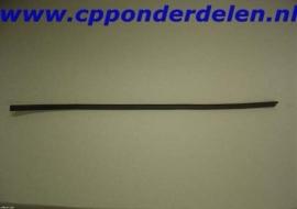 911014 Bumper / carosserierubber links achter `69-`73
