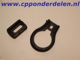 911476 Deurklink/greep rubberset
