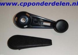 911233 Raamslinger zwart + afdekdop setprijs