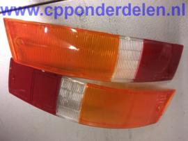 911020 Set achterlichtglazen Europees '65-'68