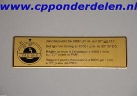 911263 Ontstekingstijdstip 911 2.2 E/S