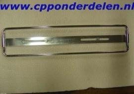 911103 Kentekenplaathouder voor klassieke blauwe plaat