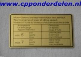 911253 Sticker Motoroliestand `65-`72