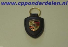 911224 Porsche sleutelhanger zwart