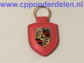 911741 Porsche sleutelhanger roze