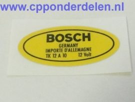 911672 Sticker Bobine 12 Volt
