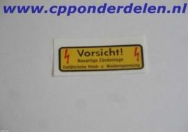 911377 Sticker Bobine