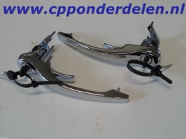 911587 Handgrepen set chroom met sleutels