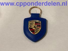 911744 Porsche sleutelhanger blauw