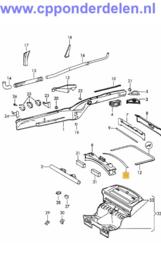 911425 Motorruimte rubber kort