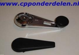 911238 Raamslinger chroom + afdekdop setprijs!