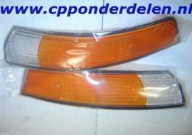 911027 Set knipperlichtglazen Europees '72-'73