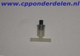 901011 T stuk ruitensproeier slang met ventiel