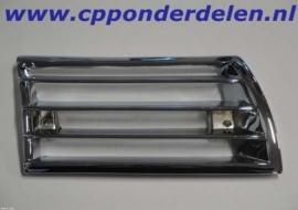 911053 Claxongrill chroom metaal rechts